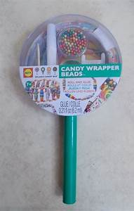 ALEX TOYS DYLAN'S CANDY BAR CANDY WRAPPER BEADS NECKLACE ...