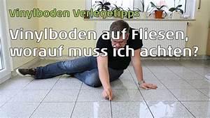 Vinylboden Auf Fliesen : vinylboden auf fliesen verlegen wie breit und tief darf die fuge sein youtube ~ Sanjose-hotels-ca.com Haus und Dekorationen
