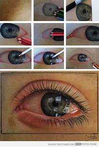 Draw a crying eye - How to draw a crying eye with ...