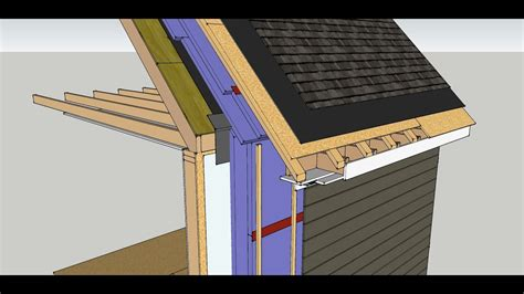 exterior insulation retrofit walls  unvented roof youtube
