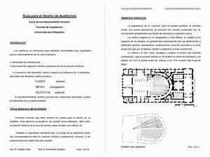 Guide To Design Auditoriums Pdf  Document   U2022 Designs Cad