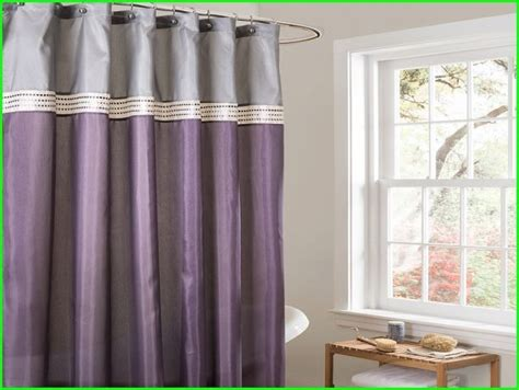purple and gray shower curtain ideas for the house