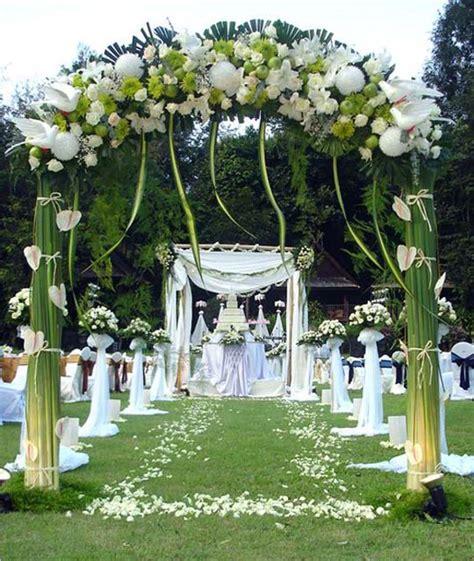 Outdoor Wedding Decoration Ideas Summer - Elitflat