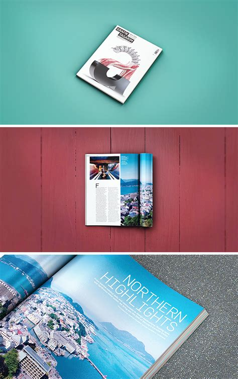 Try one of our amazing premium mockup before we get on to the photoshop mockup templates, we wanted to share 13 amazing free mockups that you can create online using a mockup. Download 5 Magazines and Brochures Mock Up Photoshop Files