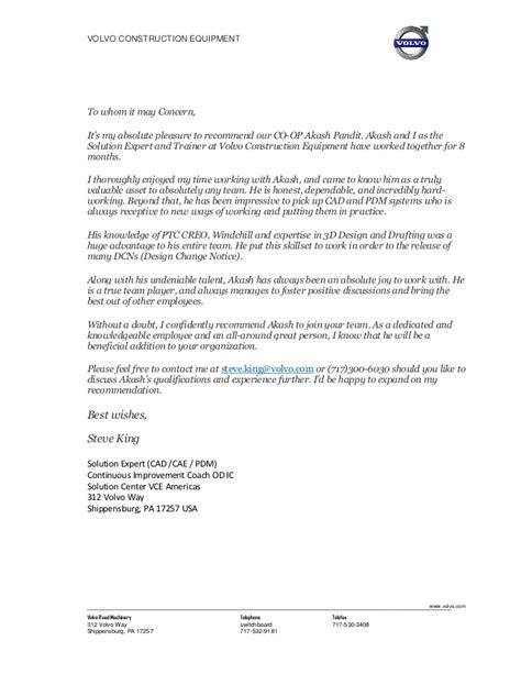 steve king recommendation letter