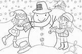 Winter Coloring Pages Season Preschool Kindergarten Toddler Worksheets Crafts Plants Trees Grow Until Again Start Spring sketch template
