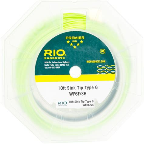 Sink Tip Fly Line Attachment by Streamer Tip Fly Line