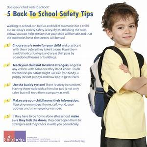 5 Back To School Safety Tips | Tips & Tools for Parents ...