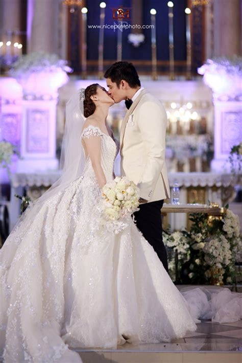 dingdong dantes marian rivera wedding   bride
