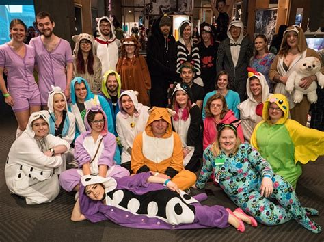 At The Cats Of The Internet Pajama Party, Actual Felines