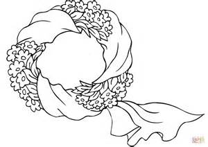 Advent Wreath Printable Version Coloring Pages