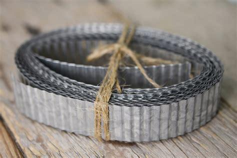 corrugated tin ribbon  ft