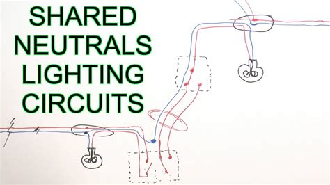 borrowed neutrals  lighting circuits youtube
