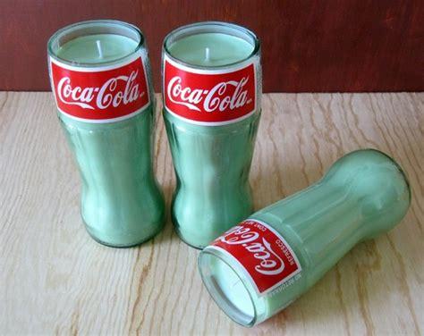 recycelte glasflaschen als diy kerzenhalter verwenden