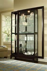 pulaski furniture living room curio 20661 hickory