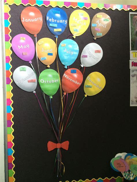 birthday wall display balloons brown class presc 975 | 4a0c3c315251e3449872a2938a695da0
