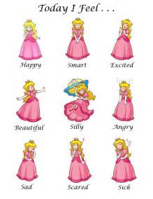 Disney Feeling Emotions Chart
