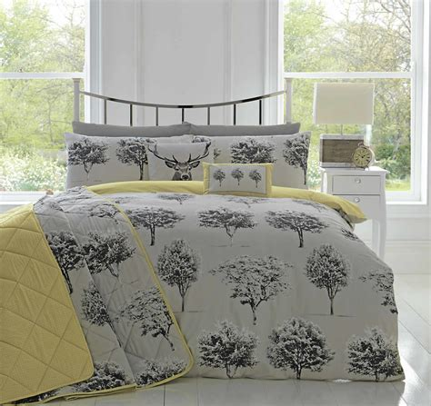 grey duvet cover appletree 174 woodlands reversible duvet covers quilt set