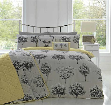 grey duvet cover king appletree 174 woodlands reversible duvet covers quilt set