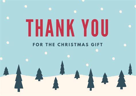 christmas thank you card printables free printable cards