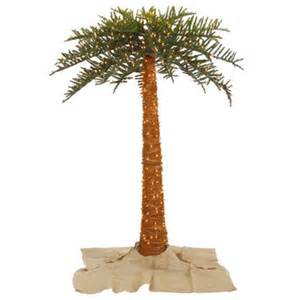 6 green outdoor palm artificial christmas tree with 500 clear lights wayfair