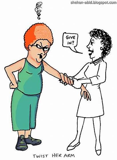 Cartoon Arm Twist Quotes Famous