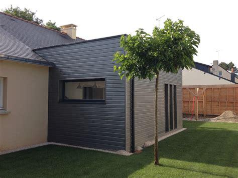 maison bois bardage satur 233 gris becokit maisons ossature bois