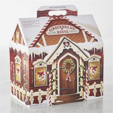 williams sonoma gingerbread house kit williams sonoma