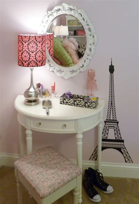 little girls makeup table half moon vanity traditional 39 s room sherwin