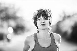 Anais Mitchell moves forward while looking behind - C ...