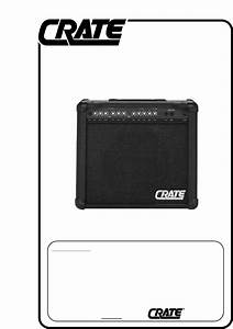 Crate Amplifiers Stereo Amplifier Gx