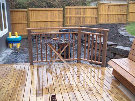 decks and fences european garden design