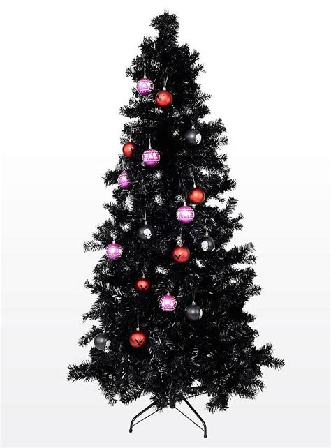schwarzer weihnachtsbaum
