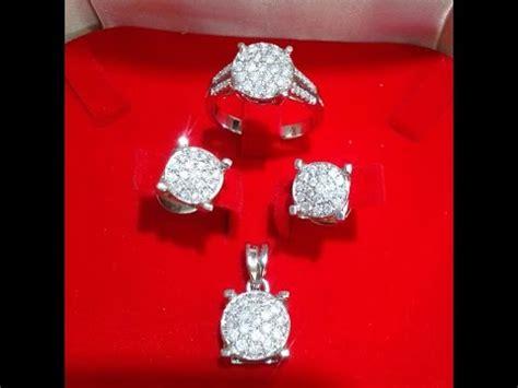 481 perhiasan berlian cincin anting liontin youtube