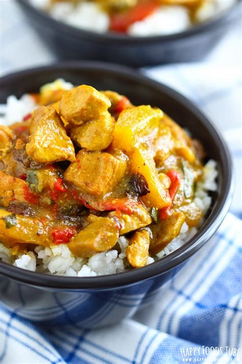 instant pot chicken curry pressure cooking chicken curry