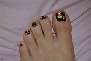 Easy Simple Nail Designs 15 Halloween Toe Nails Art Designs Ideas 2017