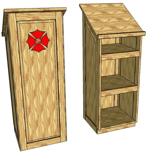 podium   woodworking plans