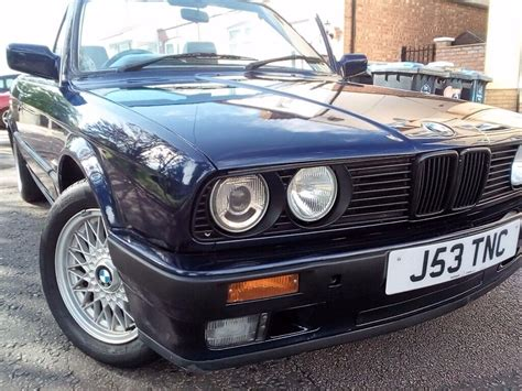 Bmw 320i For Sale by Bmw 320i Convertible E30 Automatic For Sale In Finchley