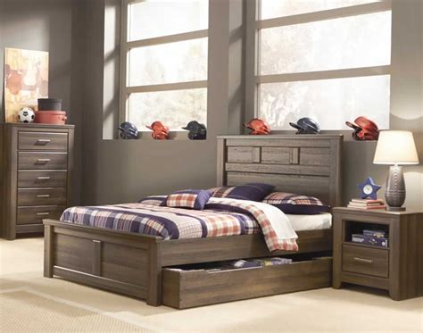 chicago cheap rustic trundle bed twin or full size