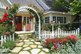 Traditional Home Garden Decor With Flower Forget The Traditional Look Modern Front Yard Landscaping Ideas