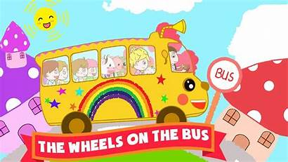 Bus Wheels Simple Super Song Songs Rhymes