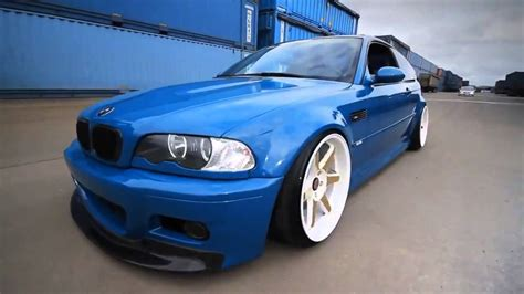 Stancenation Bmw M3 E46 Laguna Seca Blue Youtube