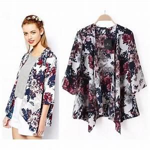 Kimono Long Femme : kimono femme mode ~ Farleysfitness.com Idées de Décoration