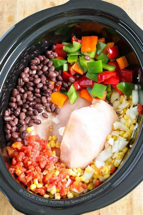 cooker chicken chili slow cooker chicken chili spend with pennies