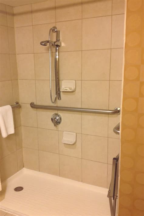 ideas for bathroom wall decor 7 ideas to improve a universal and accessible hotel shower