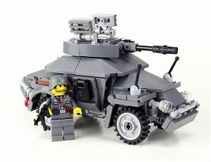 Sd Automobile : german armored car sd kfz 222 ww2 complete custom set made with real lego ebay ~ Gottalentnigeria.com Avis de Voitures