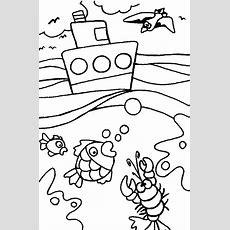Desene De Colorat Mari Si Oceane  Lipici La Pici's Blog
