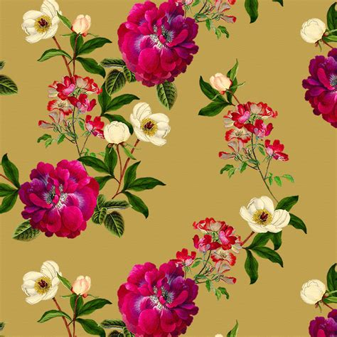 Designer Upholstery Fabric Uk by Designer Upholstery Curtain Vintage Uk Fabric Floral Glade