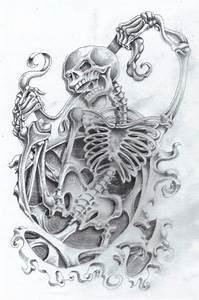 Skeleton tattoos
