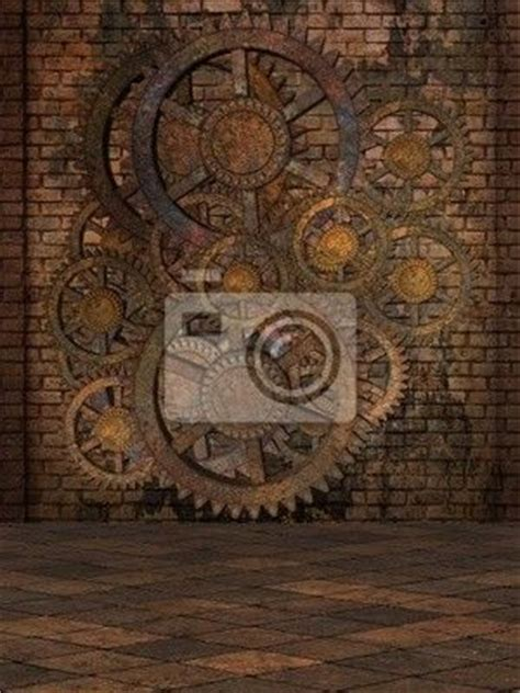 wall mural steampunk steam wall check pixersize